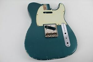 MJT Official Custom Vintage Age Nitro Guitar Body Mark Jenny VTT Ocean Turquoise
