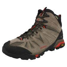 365967571c8 Para Hombre Merrell Gore-Tex Botas Con Cordones Caminar Cuero -  Capra  medio