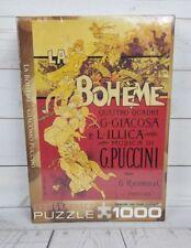 New La Boheme Adolfo Hohenstein 1000 Piece Jigsaw Puzzle Eurographics nib