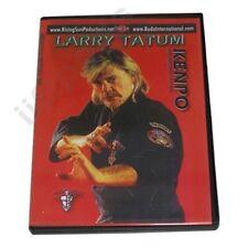 Ed Parker Kenpo Karate Training Dvd Master Larry Tatum Hawaiian kempo chinese