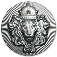 Lingot 2 Onces argent pur 999 / Scottsdale Stacker Round 2 Oz Fine Silver 999