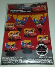 Cars Decorating Kit  Birthday Party Supplies Centerpiece Disney McQueen