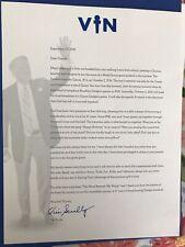 Vin Scully Retirement Letter Dodger Stadium Giveaway Excellent Condition
