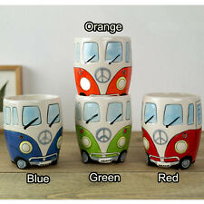 Hand-painted Volkswagen Ceramic Shaped Coffee Mug Watter Cup 201-300ml Best Gift