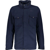 DIDRIKSONS Men's TORD Navy Blue Jacket, size Medium, RRP £100
