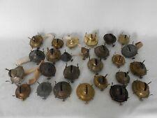 New ListingAntique Large Lot Of #1 and #2 Oil Lamp Burners, Kerosene Lamp Burners Parts