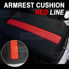 Sports Center Console Line Armrest Support Cushion Red Accessory For PONTIAC Car
