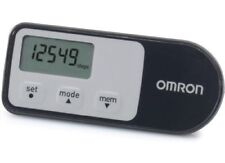 Omron HJ321 BLACK Walking Style Step Counter 12.1 Genuine Original /Brand New