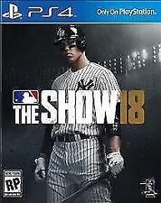 MLB THE SHOW 18 - PS4 - BRAND NEW FACTORY SEALED!