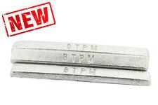 1Kg Premium Estaño Lingote Barra de metal blanco para comprar a los expertos de fundición.