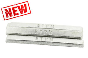 1Kg Premium Pewter Ingot Bar White Metal for casting. LEAD FREE from the experts