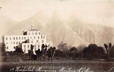D68/ Foreign Postcard c1940s Monterrey Mexico Hospital Muguera Building