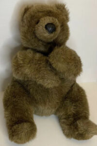 "Gund Vintage Collectors Classic 1988 Brown Bear 18"" plush stuffed soft huggable"