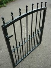 "MANOR HEAVY DUTY GARDEN METAL GATE 36"" OP x 36"" TALL STRONG WROUGHT IRON SMALL"