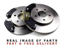 Front Vented Brake Discs Ford Mondeo 2.0 TDCi Estate 2001-06 130HP 300mm