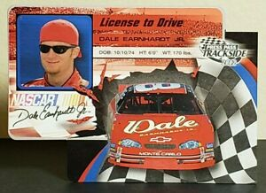 Dale Earnhardt Jr 2002 Press Pass Trackside License to Drive #LDP 8 (#8 Chevy)