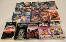 Mixed Lot of 15 Science Fiction Books Starcraft Battlestar Mission Earth + More!