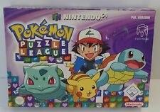 Nintendo 64 POKEMON PUZZLE LEAGUE neuf dans sa boîte n64-Neuf New