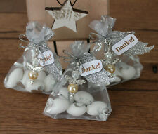 Schutzengel Mandeln im Geschenksäckchen Danke Gastgeschenk Hochzeit Geburtstag