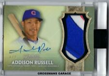 2017 TOPPS DYNASTY  - ADDISON RUSSEL AUTOGRAPH PATCH #4/5 CHICAGO CUBS