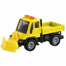 Tomica No. 22 Mercedes Benz Unimog snow removal model car (box) YYY04 F/S wTrack
