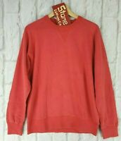 Mens Levis Vintage Clothing LVC Red Bay Meadows Crew Sweater Jumper £175 New S M
