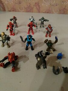 11 Halo Action Figures 2 Inch