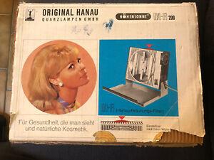 Original Hanau Quartz Lampe - Höhensonne HA-FI 200 Quartzlampe