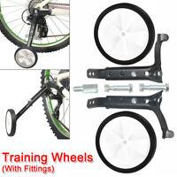 "Kids Bicycle Training Wheels Bike Stabilisers Safety 12-20/"" InchRAS"