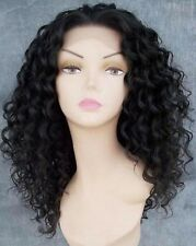 """Gorgeous 14"""" Long Virgin Malaysian 3a/Kinky Curl Lace Front Wig!!!!"""