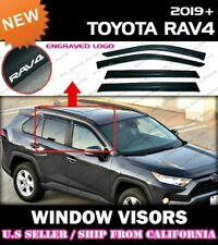 WINDOW VISORS for Toyota 2019 2020 RAV4 / DEFLECTOR RAIN GUARD VENT SHADE