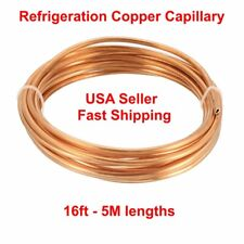 Precision Copper Capillary Refrigeration Tubing 0.026