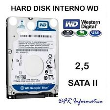 HARD DISK INTERNO 1TB 2,5 WESTERN DIGITAL SATA II 5400 RPM HDD 1000 GB NOTEBOOK