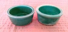 Spice Dishes Sauce Dip Bowl Handcrafted Pottery Kitchenware Dinnerware (set 2)