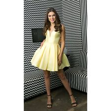 NEW Juliet Classic Prom Homecoming Formal Party Dress Short Yellow 2X Belle