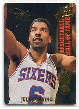 1993 Action Packed Hall of Fame 24k Gold 72 Julius Erving 1707/2500