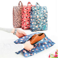 Waterproof Portable Laundry Shoes Travel Pouch Storage Bag Zip Tote Organizer