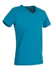 Camiseta de Hombre Stedman Cuello Pico Manga Corta Algodón 40° Regular Fit