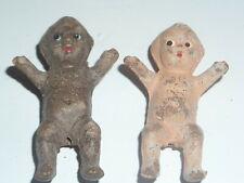 2 small kewpie ? dolls porcilin? bisque? (B9)