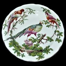 Vista Alegre Mottahedeh CHELSEA BIRD Plate, Williamsburg Restoration #3