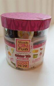 Foam Sticker Tub Girl Stuck on Fun Market Felt Scout food kitchen Grocery Store