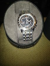 Citizen Men's Eco-Drive Atomic Two-Tone Stainless Steel Bracelet BY0106-55H New