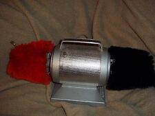 Vintage Dremel Electric Shoe Shine Polisher Buffer Red/Black Model 70 Works GUC