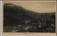 Waltershausen Thüringen alte Postkarte 1924 Gesamtansicht ungelaufen