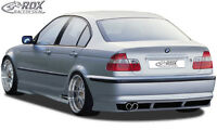 RDX Heckansatz BMW E46 Limo Facelift Heck Ansatz Schürze Diffusor Hinten