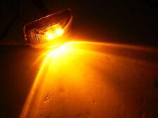 1.2 x 2.5 Amber LED Snap in Trailer Marker Light Truck Camper Horse RV Rice