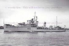 rp13663 - Royal Navy Warship - HMS Esk H15 , built 1934 lost 1940 - photo 6x4