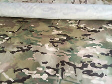 "CAMOUFLAGE MULTICAM NYLON 4 SEASONS RIPSTOP FABRIC 60"" INCHS WIDE BY YARD"