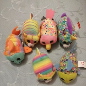 Ty 6 Assorted Happy Meal Toys