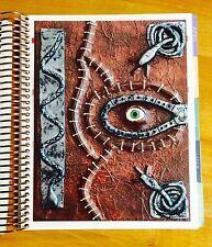 Hocus Pocus Inspired Spell Book twoside DASHBOARD for use w/ ErinCondren Planner